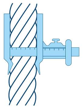 尺寸:直径,周长